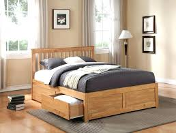 Cheap Wood Bed Frames Queen Wood Bed Frame Large Size Of Low Frames ...