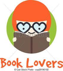 vector funny in gles logotype book logo
