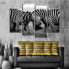 Zebra Living Room Online Get Cheap Zebra Print Black Aliexpresscom Alibaba Group