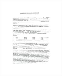 Sample Parking Space Lease Agreement Template Rental Uk – Poquet