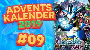 Pokemon Filme Adventskalender Türchen 9: Lucario und das Geheimnis von Mew  - YouTube