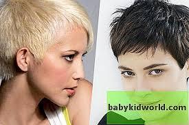 أشكال الوجوه وتسريحات الشعر بالنسبة لهم والنساء صور مع