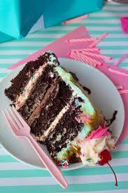 Ultimate Sundae Birthday Cake Recipe Queenslee Appétit