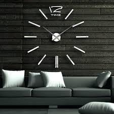 modern wall clocks large contemporary wall clocks interesting large modern wall clocks modern design decorative modern