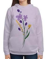"""Толстовка с полной запечаткой """"<b>Полевые цветы</b>"""" #2819800 от ..."""