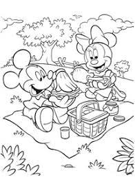 ミッキーマウス 無料で印刷できる塗り絵