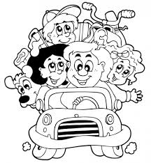 Small Picture Family Coloring Pages For Kids Printable Coloring Coloring Pages