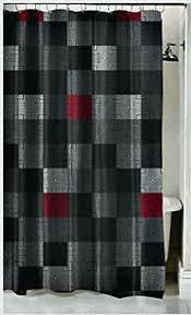 dark gray shower curtains curtains dark gray
