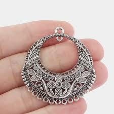 chandelier earring findings elegant antique silver tibetan style chandelier jewelry diy ponent link