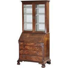 antique 18th century english george ii walnut secretary desk display classic tradition ruby lane