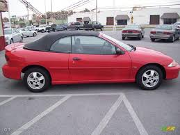 2000 Bright Red Chevrolet Cavalier Z24 Convertible #20292357 Photo ...