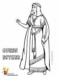 Esther Accusing Haman Coloring Page Free Printable Pages Throughout