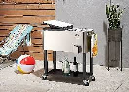 best rolling patio cooler to cool those