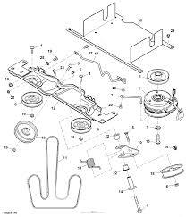 John deere parts diagrams john deere z425 eztrak mower w 48inch deck pc9594 pulleys drive belt 130001 power train