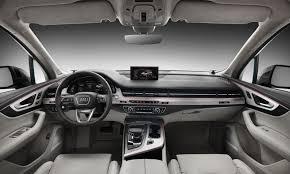 black audi a4 interior. 2016 audi q7 interior black a4