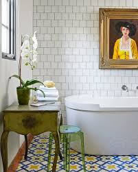15 Eclectic Bathrooms With A Alluring Colorful Bathroom Designs Colorful Bathrooms