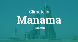 Bahrain Temperature Chart Climate Weather Averages In Manama Bahrain