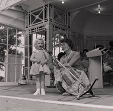 Ivy Benson is the compere at a Children's Personality competition, Villa  Marina - Photographic Archive - iMuseum