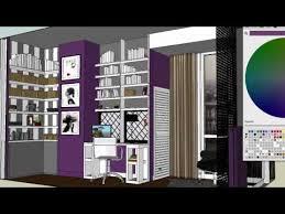 interior design bedroom sketches. Interior Design, Bedroom Designs On 3d Sketch Up Interior Design Bedroom Sketches