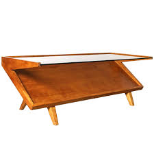 Boomerang Coffee Table Walnut Mid Century Coffee Table By Warren Church For Lane Co At