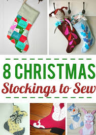 Christmas Stocking Sewing Pattern Amazing Our Favorite Christmas Stocking Patterns On Craftsy