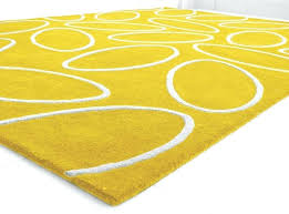 bright yellow area rugs rug neon