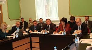 Контрольно счетная палата Брянской области приняла участие в  sport comit 15 11 17 Председатель Контрольно счетной палаты