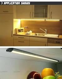 under cabinet strip lighting kitchen cabinet counter led lighting strip