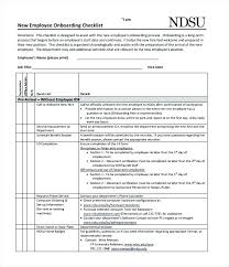 Onboarding Template Excel New Employee Checklist Template Onboarding Checklists And Forms