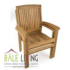 teak garden chair stacking chairs