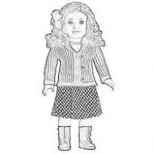 Crafty Ideas American Girl Doll Coloring Page Pages To Download And