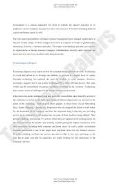 topic essay about technology village life
