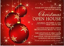 Christmas Wording Samples Business Open House Invitations Reception Invitation Wording Samples