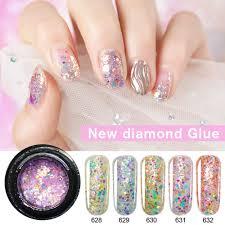Gel Nail Designs With Diamonds Amazon Com 2019 New Nail Art Diy Design Diamond Supper
