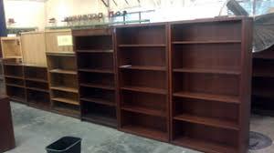 Wood Veneer Bookcases