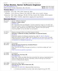 Resume Template Software Software Engineer Resume Templates 17955 Butrinti Org