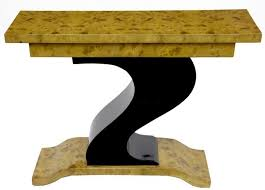 art deco furniture 1920s. art deco z shape console table modernist furniture 1920s c