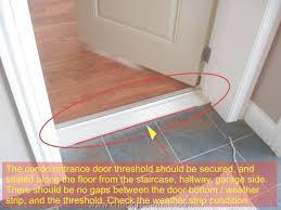 exterior door jamb. Internal Door Threshold Strips Exterior+Door+Threshold | Condo Entrance Frame / Exterior Jamb