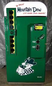 Vintage Mountain Dew Vending Machine Delectable Mountain Dew Custom Design Vendo 48A Antique Refinishing Services
