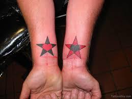 татуировка звезды на запястье татуировки на запястье Tattoohacom