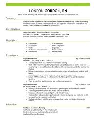 Free Registered Nurse Resume Templates Classy Registered Nurse Resume Template Awesome Experienced Nursing Resume
