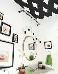 industrial bathroom lighting. Model Easy DIY Update To Create Beautiful Industrial Bathroom Lighting I