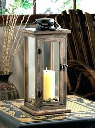 decorative candle lantern white distressed candle holders rustic wood candle holders decorative candle lanterns large wood rustic outdoor candle white