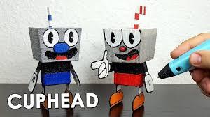 <b>3D PEN</b> РИСУЮ CUPHEAD <b>3D РУЧКОЙ</b>