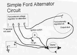 alternator voltage regulator wiring ford truck enthusiasts forums ford 3 wire alternator hookup at 1985 Ford Truck Alternator Diagram