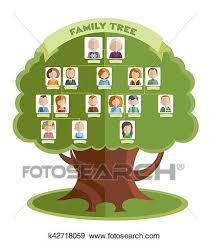Family Tree Tree Template Family Tree Template Clip Art