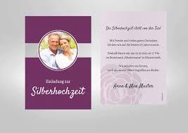 Silberhochzeit Einladungskarten Einladung Zum Paradies