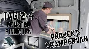 Fenster Einbauen Im Diy Campervan Dometic S4 Fiamma Vent