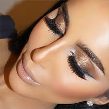 makeup purple lips this is such a rich look for autumn bronze gold with volume lashes and beautiful brows