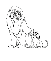 and his father in the lion king coloring page baby simba pages and his father in the lion king coloring page baby simba pages